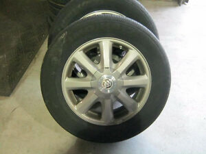 OEM Buick Allure rims and tires