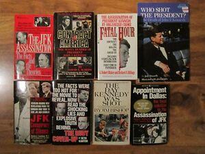 John F. Kennedy Assassination Soft Cover Books