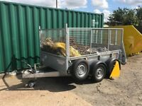 Ifor Williams GD85 Caged Trailer