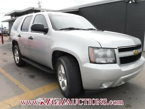 2011 CHEVROLET TAHOE POLICE 4D UTILITY 4WD POLICE
