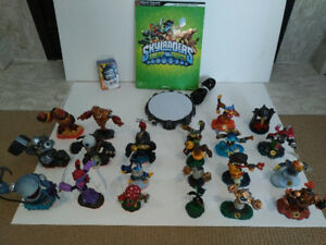 2nd&3rd GEN SKYLANDERS WITH PORTAL AND BOOK - GENTLY USED