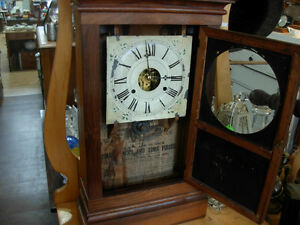 1860's Waterbury Shelf/Wall Clock Cambridge Kitchener Area image 2