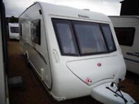 Elddis Avante 505 2010 5 Berth Double Dinette Single Axle Touring Caravan