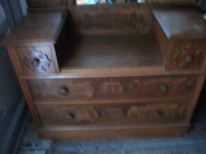 ANTIQUE WALNUT DRESSER Belleville Belleville Area image 1