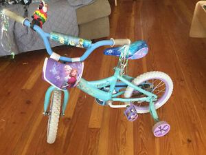 Huffy Princess Bike 14 inch wheels