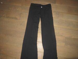 lululemon  blk pants size 6