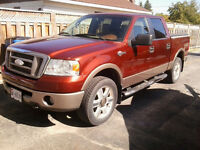2006 Ford F-150 Fully loaded King Ranch SuperCrew Pickup Truck