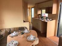 8 berth static holiday home on the Ayrshire coast