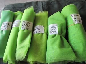 Green Sparkle Tulle Attention Tutu Makers (lot listed for $15.00 London Ontario image 1