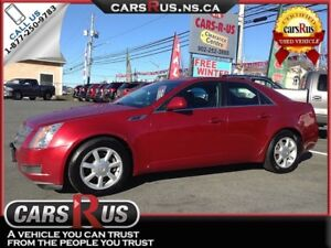2009 Cadillac CTS 3.6L V6..incl. 1 year unlimited km warranty!