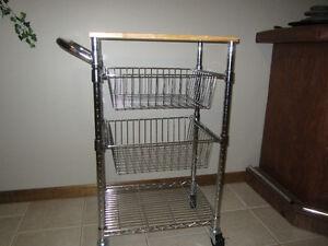 Wired Wheeled storage  cart