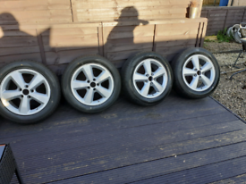 Ford 5x108 alloys new tyres