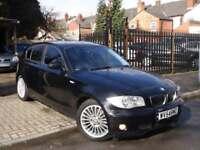 BMW 116 1.6i 2004 ++ SPORT ++ 5 DOOR IN BLACK ++ FULL BLACK PACK