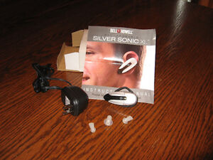 BELL + HOWELL SILVER SONIC XL PERSONAL SOUND AMPLIFIER
