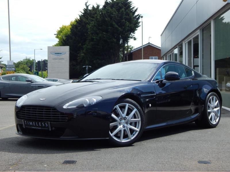 2013 Aston Martin V8 Vantage Coupe 2dr 420 Manual Petrol Coupe