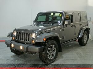 2014 Jeep Wrangler Unlimited Rubicon   - NAVIGATION - UCONNECT -