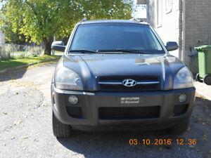 2007 Hyundai Tucson Tissus VUS