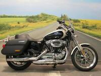 Harley Davidson XL1200T Superlow Sportster *Low miles Panniers Large Screen*
