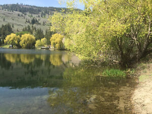 Lakefront acreage with large house 15 mins SW of Penticton