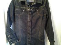 Tunique ou veste en jeans