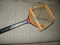 DONNAY TENNIS RACKET WITH PRESS