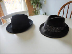 Black and Brown Hats