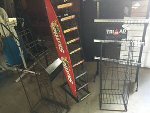 Assortment Of Display Wire Racks/Organize/Different Projects