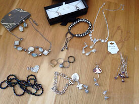 Costume jewellery mostly new