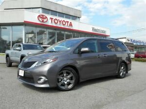 2017 Toyota Sienna SE Technology Package