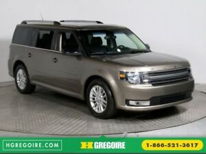 2013 Ford Flex SEL AWD CUIR TOIT MAGS 7 PASSAGERS