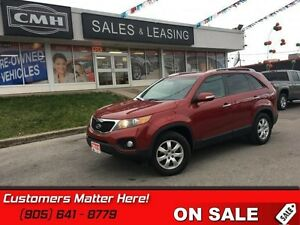2011 Kia Sorento   ONW-OWNER, NO ACCIDENTS, BLUETOOTH, HEATED SE