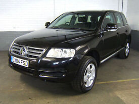 2004 VOLKSWAGEN TOUAREG 2.5 TDI 6 Speed Manual DIESEL ESTATE 4x4 4WD AWD Leather