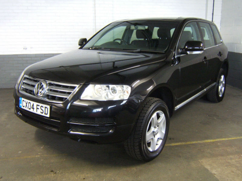 2004 volkswagen touareg 2 5 tdi 6 speed manual diesel estate 4x4 4wd awd leather in mansfield. Black Bedroom Furniture Sets. Home Design Ideas