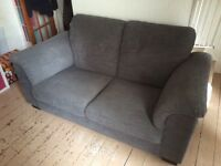 IKEA Tidafors Two-seat sofa - Hensta grey RRP £399
