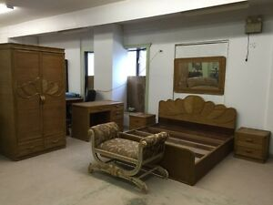 Incredible Rattan King Bedroom Suite all Hand Made