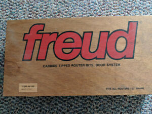 freud Carbide Tipped Router Bits, Door System