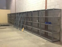"PALLET RACKING AND STEEL SHELVING. ""$3.00 CLEARANCE"""