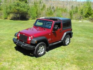 2011 Jeep Wrangler Sport - Excellent Condition - Two Tops