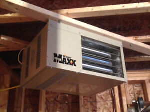 Mr Heater propane heater with everything you need/MAY trade