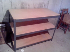 work bench or shelving