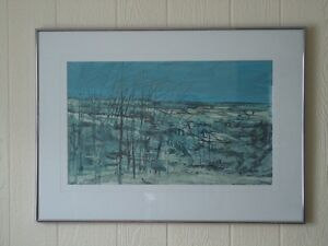 """""""Winter Trees"""" by Moe Reinblatt"""
