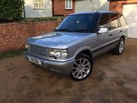 LANDROVER RANGEROVER 2.5 DSE AUTO SILVER (SUPERCHARGED ALLOY WHEELS) GOOD LOOKING MUST SEE! PX?