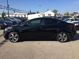 2016 HYUNDAI ELANTRA GLS * 1OWNER * REAR CAM * BLUETOOTH * SUNRO London Ontario image 3