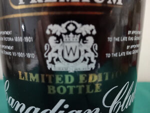 Premium Canadian Club Limited Edition 750ml bottle (empty) Cornwall Ontario image 6
