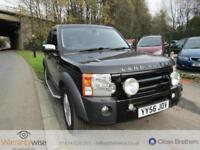 LAND ROVER DISCOVERY 2006 Auto 103785 Diesel Black Diesel Automatic in Black
