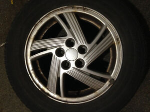 Alloy rims London Ontario image 1