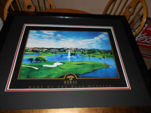 Very Large Print of Doral Resort and Spa Framed 41 x 33