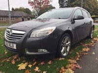 Vauxhall Insignia 2.0CDTI 16V SRI NAV 160PS Good / Bad Credit Car Finance (grey) 2011