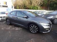 2014 63 HONDA CIVIC 1.8 I-VTEC SE PLUS 5D 140 BHP