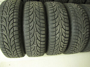 """15"""" Used Winter Tires & Steel Rims For Toyota Corolla $300 CASH"""